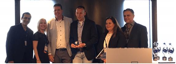Inovativ wint Frontline Partner Growth en Excellence Award 2016