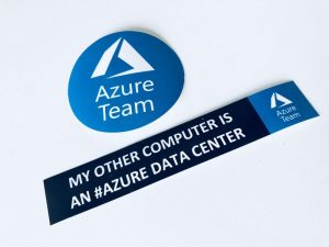 MVP Summit - Azure sticker