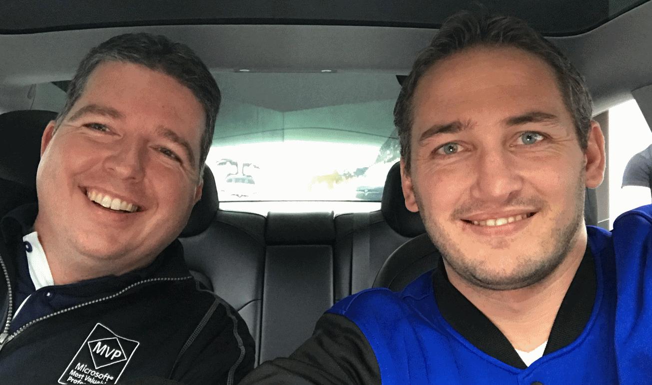 MVP Summit 2018 - Maarten en Mark