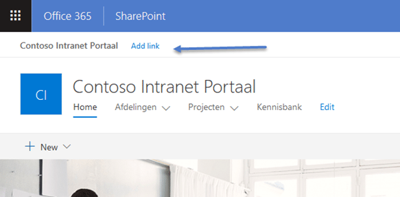 Blog Jasper SharePoint Hub Sites afbeelding 2