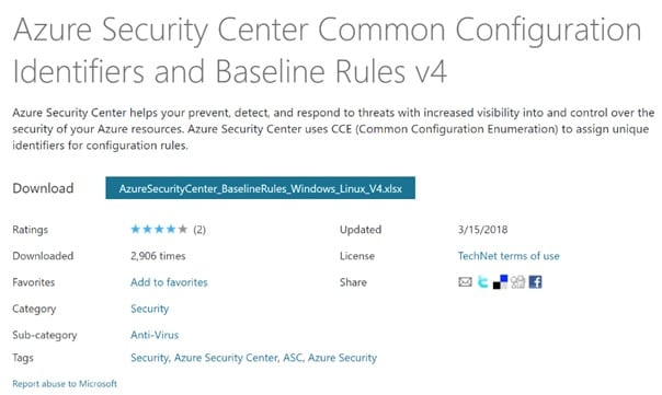 InSpark blog John de Jager Azure Security Center