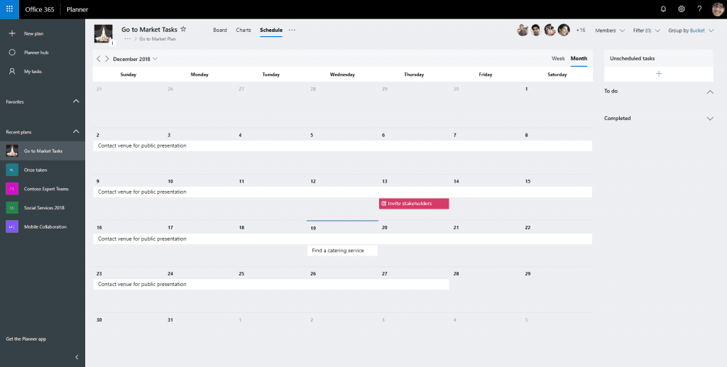 Planner SharePoint Team Sites InSpark Blog Jasper -7