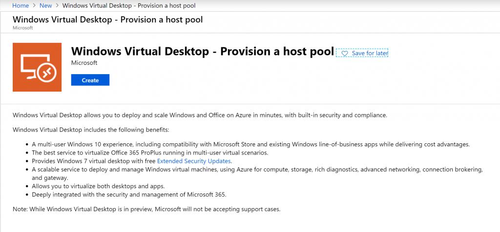 Blog christiaan Windows Virtual Desktop WVD 3